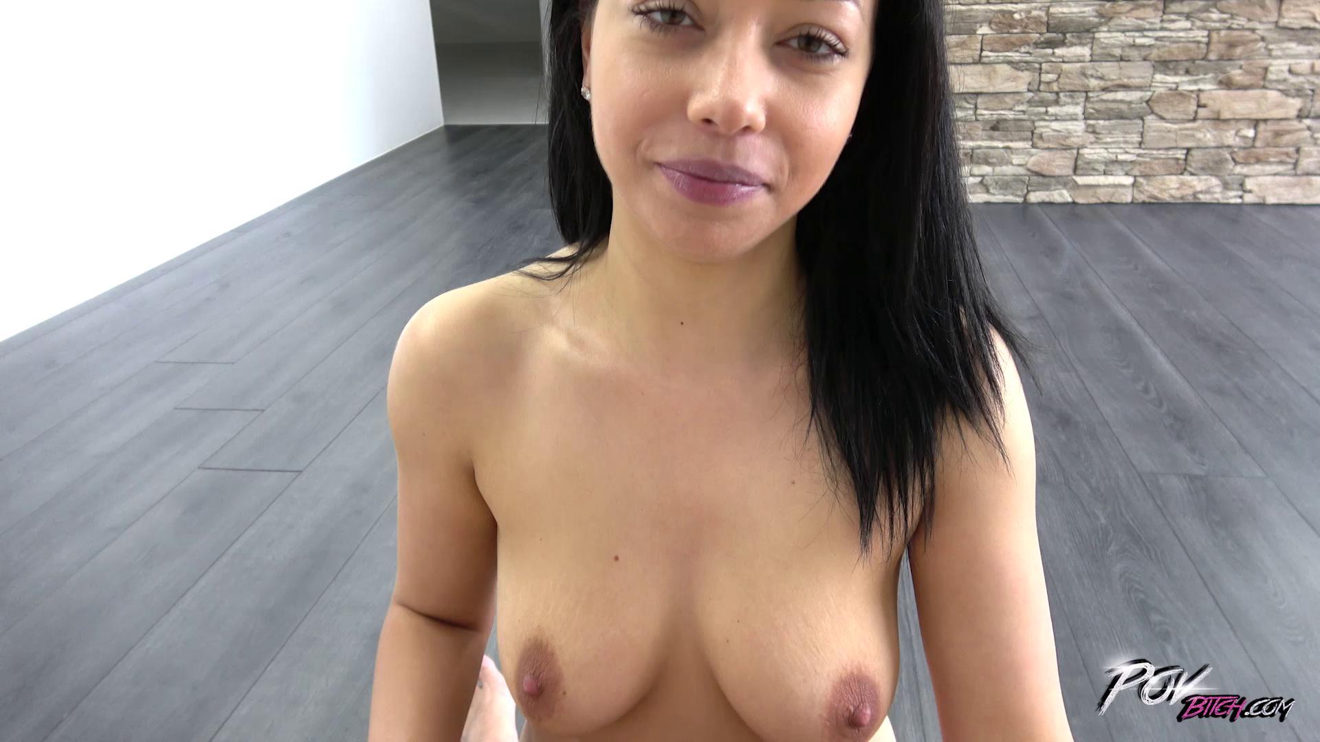 POVBitch – Carrie Cruz Exotic Bitch Show Great Tits