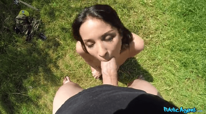 PublicAgent – Anissa Kate – Cheating Wife Fucked in a Tent