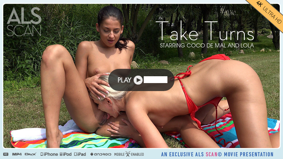 ALSScan – Take Turns – Coco Mal ,Lola