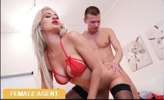 FemaleAgent – Nicole Vice – Cum hungry agent swallows big load